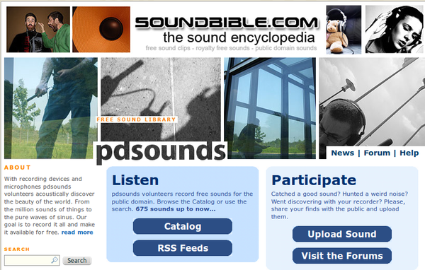 Http Soundbible Com Blog  Royalty Free Nature Sounds